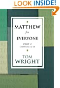 Matthew for Everyone: Part 2 (New Testament Guides for Everyone): Pt. 2