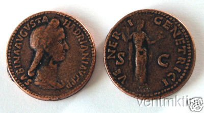 (DD S 57) Sestertius of Sabrina COPY