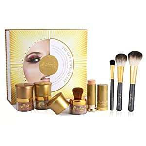 Amore Mio Cosmetics Mineral Cosmetic Get Started Kit, 7-Count