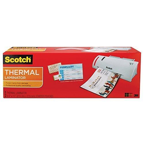 scotch thermal laminator tl902a