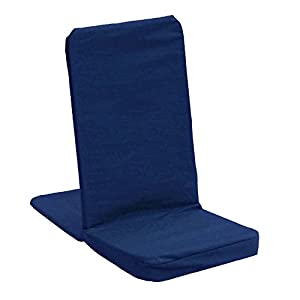 Amazon Folding Back Jack Meditation Chair Navy