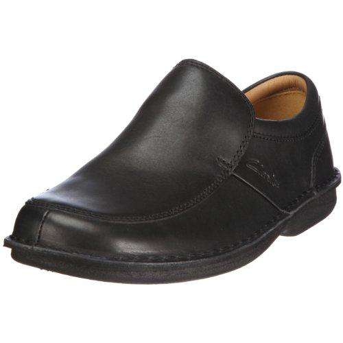 Clarks Men's Sentry Slip Moccasin Black UK 7