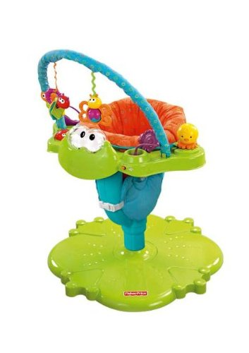 Baby's Store |   Fisher-Price Bounce N Spin Froggy Activity Center