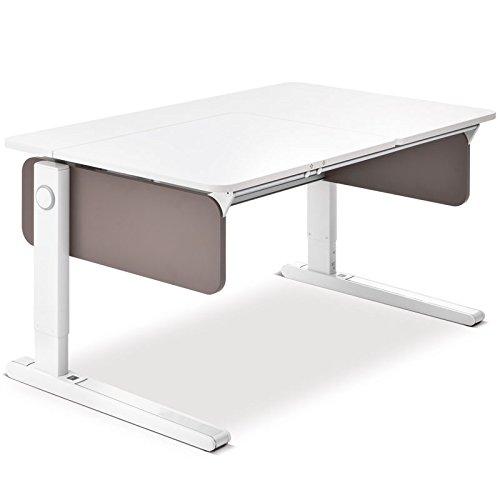 Moll Champion Style Left Up Schreibtisch | schlamm | 120 x 72 x 53-82 cm (Breite x Tiefe x Höhe) | höhenverstellbar günstig kaufen