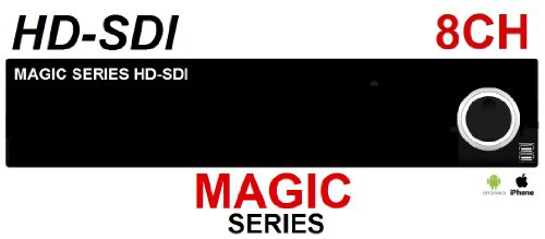 Magic : Hd-Sdi 8 Channel Full Hd Security Dvr System (With 1Tb Hard Drive Installed) front-270222