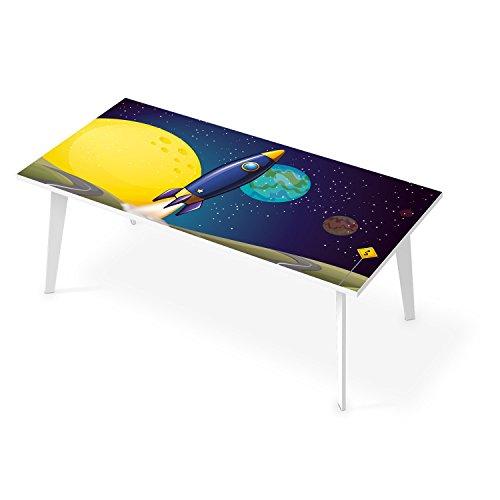tischfolie f r tisch 200x100 cm dekor k chentisch folie sticker aufkleber selbstklebend. Black Bedroom Furniture Sets. Home Design Ideas