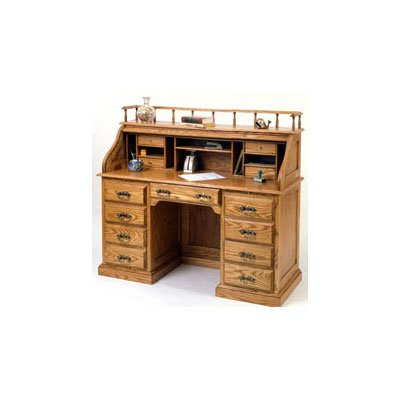 Woodworking Project Paper Plan to Build Classic Roll Top Desk