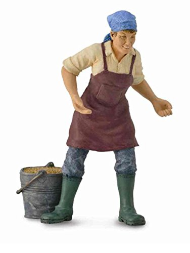 Collect A Farm Life Female Farmer Toy Figure