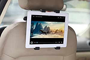 "Lufei Universal Car Mount Tablet Back Seat Headrest Holder for 7""-11"" Tablets: Apple Ipad 1 2 3 4, Ipad Mini, Ipad Mini 2, Ipad; Ipad Air; Acer Iconia Tab A/b/w Series Such As A500 W510 A210 A110; Amazon Kindle Fire (Hd); Asus Fonepad, Memo Pad, Asus Eee"
