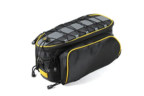 Find Bargain Hardie Bear 13l Mountain Bike Bag 840d Oxford Waterproof Bicycle Bag Cycling Rear Seat Trunk Bag Panniers Bicycle Black Pouch Bullet Point