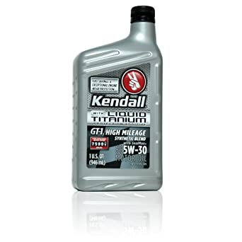 Kendall Gt 1 High Mileage Synthetic Blend 5w