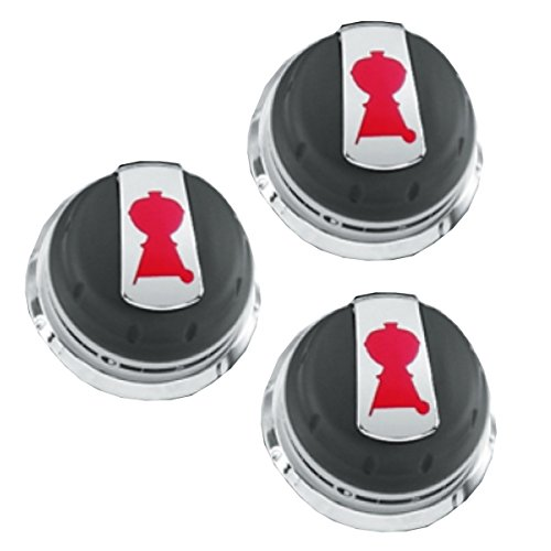 Best Price! Weber Gas Grill Genesis Series Knob Set of 3 knobs 2011+ Grills 88848