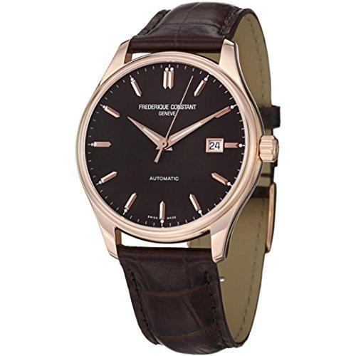Frederique Constant FC-303C5B4 - Reloj para hombres, correa de cuero color marrón