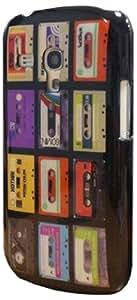 Kothai KOSP0047 Coque pour Samsung Galaxy S3 Mini Motif Cassette Noir Edition