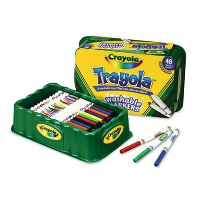 BUY NOW DIRECT -Crayola Trayola Washable Markers-PT# BND- USCYO588214