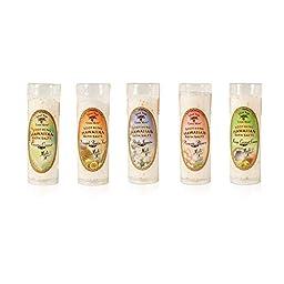 Hawaiian Bath Salt Gift Set Bundle - Set of 5