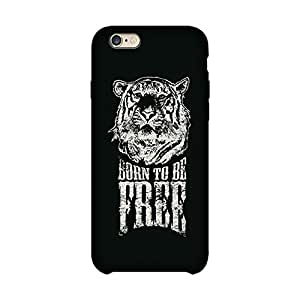 Abhivyakti Animal Born to be free Hard Back Case Cover For Apple Iphone 6 Plus/6s Plus