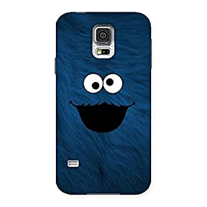 Impressive Blue Funny Ghost Back Case Cover for Samsung Galaxy S5