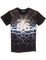 Match Men's Hip Hop Rock Punk Harajuku Style Printed T-shirts