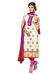 pakiza design new multi color embroidered rakshabandhan partywear salwar suit dress material