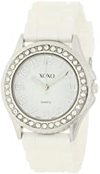 "XOXO Women's XO3272 ""Boyfriend"" Crystal-Accented Watch"