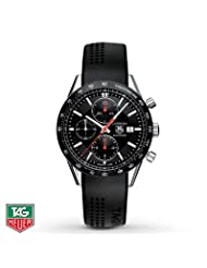 TAG Heuer Men's Watch Automatic Chronograph Carrera- Men's Watches