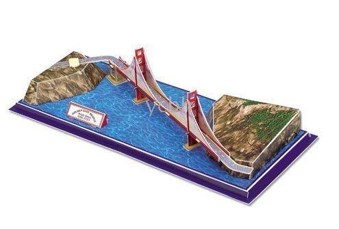 Golden Gate Bridge San Francisco 3D Puzzle, 20 Pieces