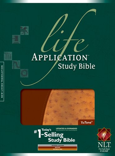 Life Application Study Bible NLT, TuTone Picture