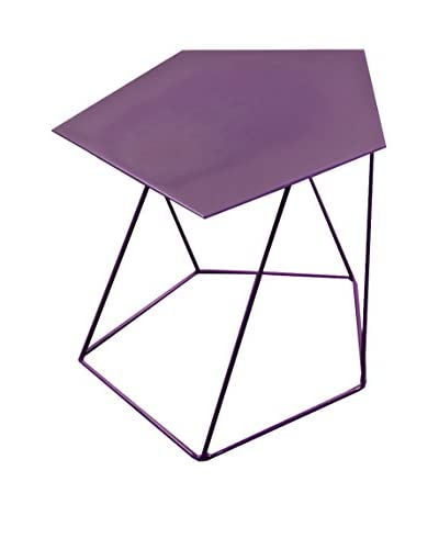 Ontwerp Twist lijst van het bureau 5mm paars