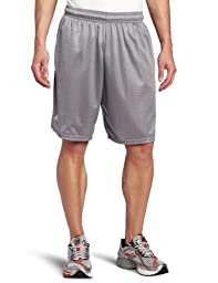 Russell Athletic Men\'s Mesh Pocket Short, Steel, X-Large
