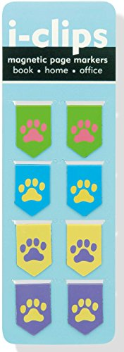 iClip Magnetic Bookmark Pawprints