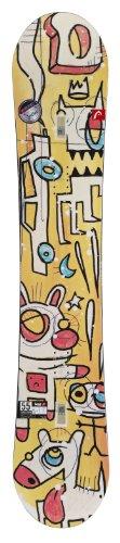 Head Unisex Defy Rocka Snowboard - Yellow, 161 cm