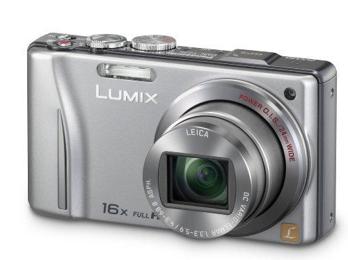 Panasonic Lumix TZ20 Digital Camera - Silver (14.1MP MOS, 16x Optical Zoom) 3 inch Touchscreen LCD