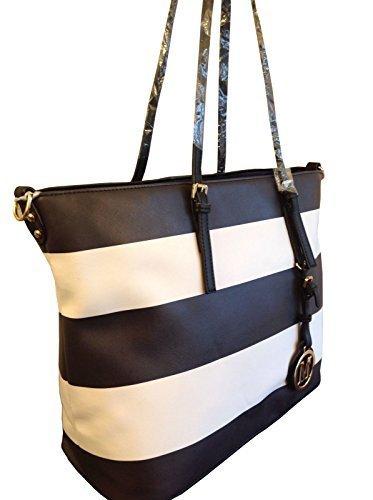 shopper-black-white-stripes-schwarz-weiss-neu-uvp-74eur