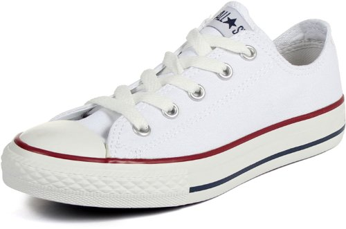 Converse Kids' Chuck Taylor All Star Ps (Optic White 13.5 M)