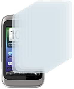 "8 x mumbi Displayschutzfolie HTC Wildfire S Schutzfolie ""CrystalClear"" unsichtbar"