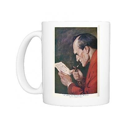 Photo Mug Of Sherlock Homes/Pipe
