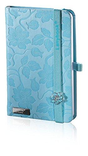 lanybook-112-2195196-notizbuch-innocent-passion-a6-liniert-192-seiten-inklusive-froschtasche-blau