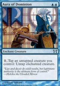 Magic: the Gathering - Aura of Dominion - Champions of Kamigawa - Foil