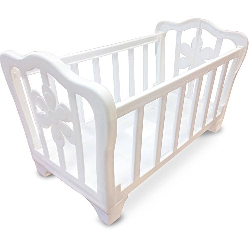 For Sale! White Baby Doll Crib for Dolls up to 16