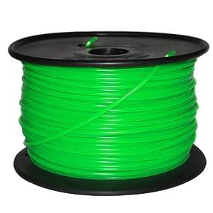 Repraper High Quality 3D Printing Material 125m PLA 3.0mm 3D Printer Filament Bundle for RepRap (Green)