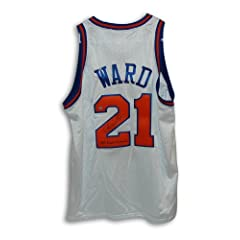 Charlie Ward New York Knicks Autographed Hand Signed White Throwback Jersey Inscribed... by Hall of Fame Memorabilia