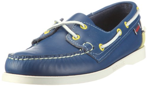 Sebago Men's Spinnaker Shoes B73438 Blue/Limeade 10 UK