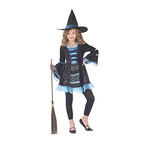 Morris Costumes Halloween Party Victorian Witch Child 12-14