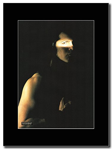 Danzig-Glenn Danzig Magazine Promo su un supporto, colore: nero