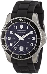 Victorinox Swiss Army Men's 241435 Maverick Rubber Black Dial Watch