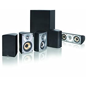 Paradigm Cinema 90 CT 5.1 Home Theater Surround Sound System (Black)