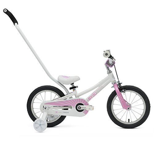 ByK E-250 Kid's Bike, 14 inch Wheels, 6.5 inch Frame, Girl's Bike, Pink (Profile Push Stem compare prices)