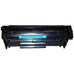 Remanufactured Toner Cartridge Replacement for HP 12A (Q2612A) (Black) - 2 Pack