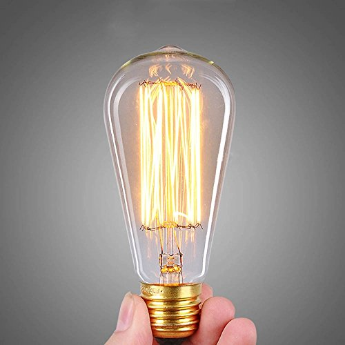 kiven vintage edison bulb dimmable antique light bulb. Black Bedroom Furniture Sets. Home Design Ideas